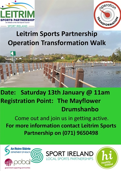Operation Transformation Walks Around Leitrim