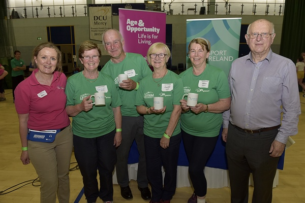 Leitrim Go For Life Team wins Spirit of the Games Awards