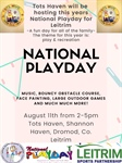 National Play Day at Tots Haven on August 11th