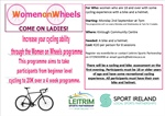 Women on Wheels in Kinlough  & Carrick 2nd September