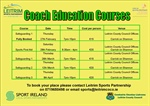 Coach Education courses 2020