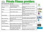 Private Fitness Providers providing online options during level 5 restrictions