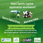 Sports Capital Grants Workshop online on February 9th
